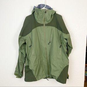 Patagonia Green Full Zip Windbreaker Jacket Large